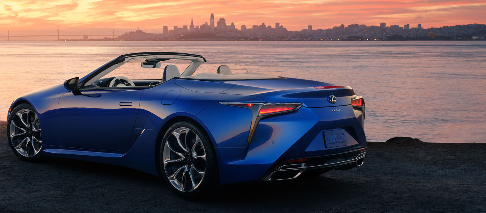 lexus lc convertible key features